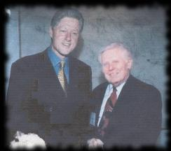 Bill Clinton and Harvey