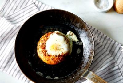 eggie in pan